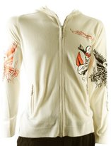 Ed Hardy Mens Love Kills Slowly Zip Up Sweater