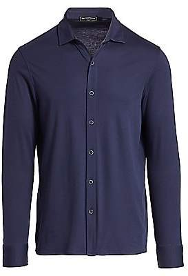 Nominee Men's Cotton Knit Button-Down Shirt