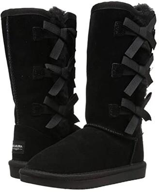Koolaburra by UGG Kids Victoria Tall (Little Kid/Big Kid) (Black) Girl's Shoes