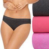 Hanes SmoothTec 3-pack Bikini Panties 42ST