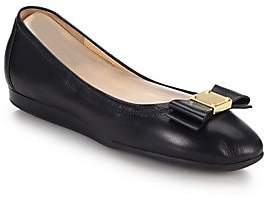 Cole Haan Women's Tali Bow Leather Flats
