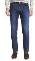Loro Piana Clean-Wash Straight-Leg Jeans, Dark Blue