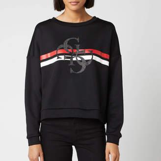 GUESS Women's 4G Logo Sweater