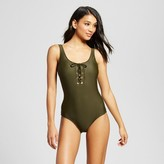 Mossimo Women's Lace Up One Piece