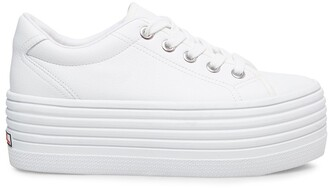 Steve Madden Bubba30 White Leather
