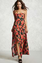 Forever 21 FOREVER 21+ Contemporary Rose Print Dress