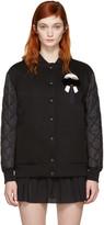 Fendi Black Down Karlito Bomber Jacket
