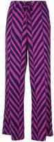 Steffen Schraut chevron printed trousers