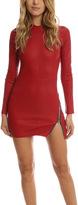 RtA Yves Leather Dress