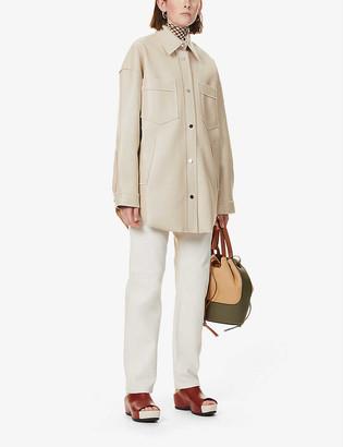 Nanushka Martin faux-leather jacket