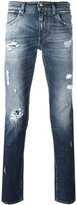Dolce & Gabbana distressed jeans - men - Cotton/Spandex/Elastane - 54