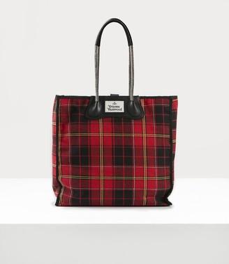 Vivienne Westwood Elena Folded Shopper Red/Black