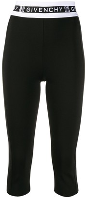 Givenchy logo waistband leggings