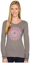 Columbia Tested Tough in Pink Medallion Long Sleeve Tee Women's T Shirt