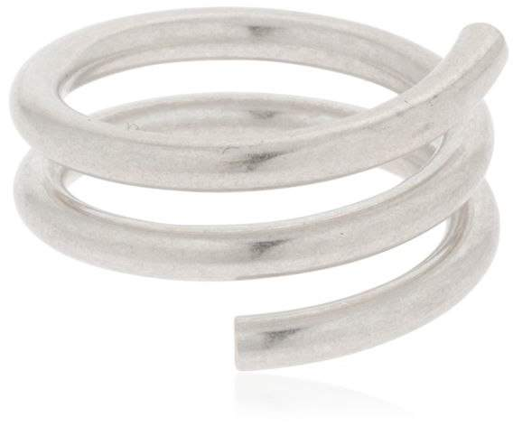 Maison Margiela Silver Spiral Ring