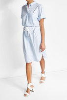 HUGO Striped Cotton Dress