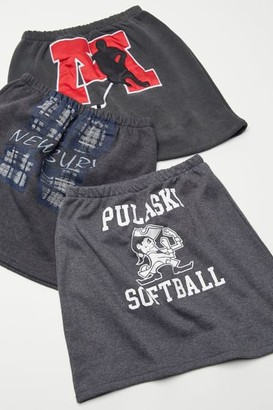 Urban Renewal Vintage Recycled Sport Graphic Mini Skirt