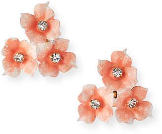 Jennifer Behr Maddie Triple Flower Earrings