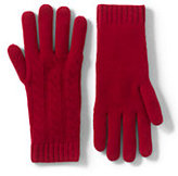Classic Women's Cashmere Cable Gloves-Snowboarder