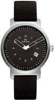 Danish Design Men's 39mm Patent Leather Band Steel Case Quartz Analog Watch IQ13Q1008