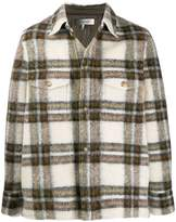 Isabel Marant checked shirt jacket