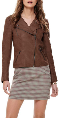 Only Ava Faux Leather Jacket