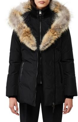 Mackage Adali Coyote Fur-Trim Coat