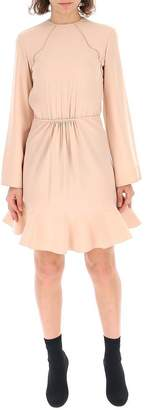 Chloé Ruffled Hem Dress