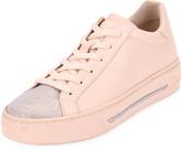 Rene Caovilla Rose Strass Flat Sneakers