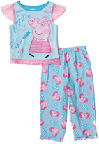 Komar Kids Blue Peppa Pig Pants Pajama Set - Toddler