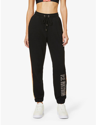 P.E Nation Field Run organic cotton-jersey jogging bottoms