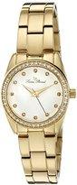 Lucien Piccard Women's 'LaBelle' Quartz Stainless Steel Casual Watch (Model: LP-40023-YG-22)