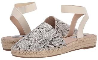 Steve Madden Merlene-S Espadrille Flat (Bone Snake) Women's Shoes