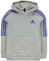 adidas Kids 3S Logo OTH Hoodie Hoody Hooded Top Junior Boys Comfortable Fit