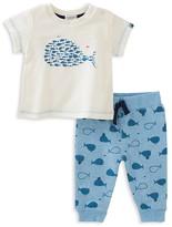 Absorba Boys' Whale Tee & Joggers Set - Baby