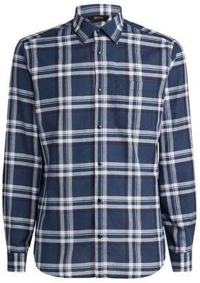 Ermenegildo Zegna Large Scale Check Shirt