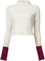 The Elder Statesman cropped jumper - women - Cashmere - XS