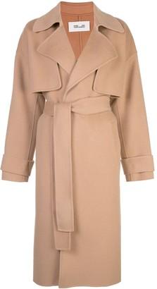 Dvf Diane Von Furstenberg Lia belted trench coat