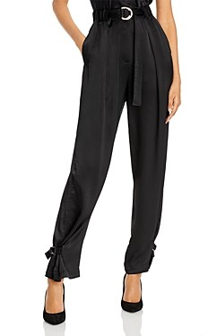 3.1 Phillip Lim Satin Track Trousers