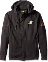 Caterpillar Men's Flame Resistant Zip Front Hoodie with Removable Hood