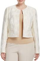 Basler Plus Metallic Cropped Jacket