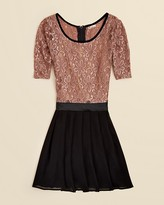 Sally Miller Girls' Three Quarter Sleeve Daisy Lace Corey Dress - Sizes S-XL
