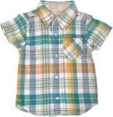 BIT'Z KIDS - Baby Boy's Reversible Plaid Shirt