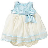Jayne Copeland Baby Girls 3-24 Months Lace-Bodice Tiered Dress