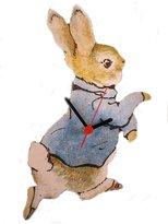 Lark Rise Peter Rabbit Wall Clock