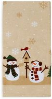 Bed Bath & Beyond Heartland Snowmen Kitchen Towel in Natural