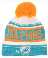 New Era Miami Dolphins Snow Dayz Knit Hat, A Macy's Exclusive Style