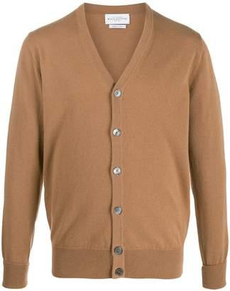 Ballantyne V-neck cashmere cardigan