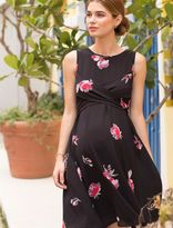 A Pea in the Pod Cross Front Maternity Dress
