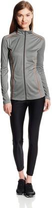 Cutter & Buck Women's Drytec Green Lake Full Zip Jacket
